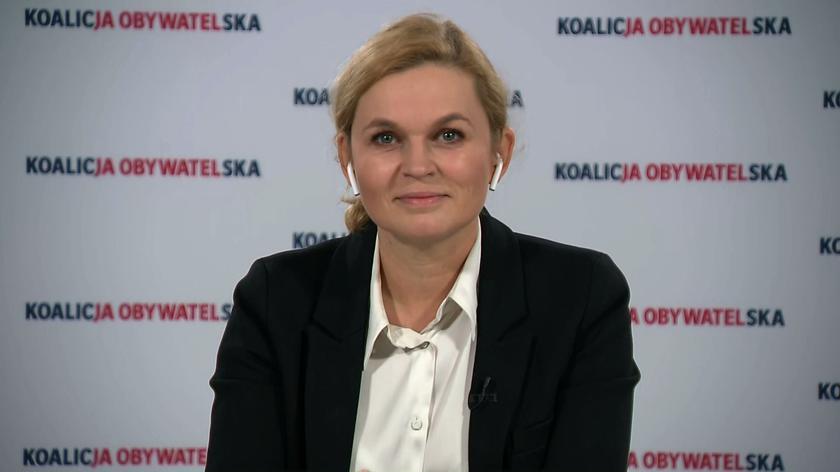 Nowacka: Jarosław Kaczyński próbuje zadać Porozumieniu polityczną śmierć
