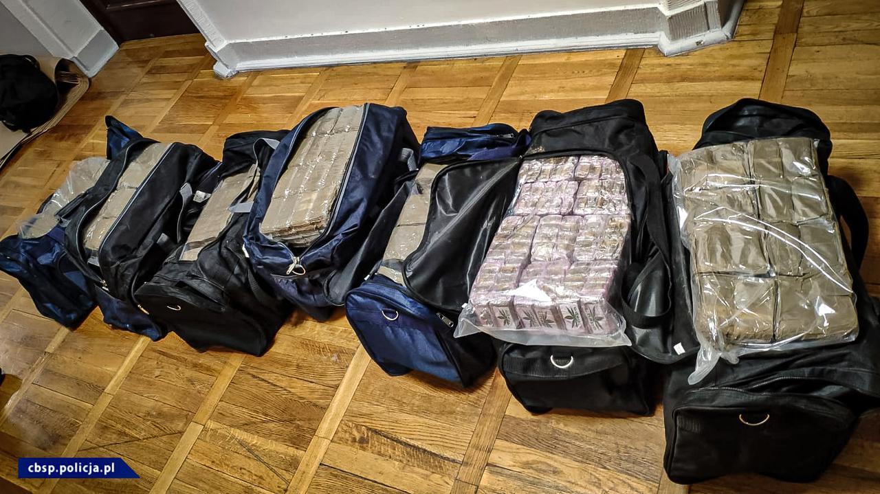 150 kilogramów haszyszu, dwóch zatrzymanych