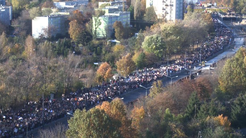W środę protesty odbywają się w wielu miastach Polski