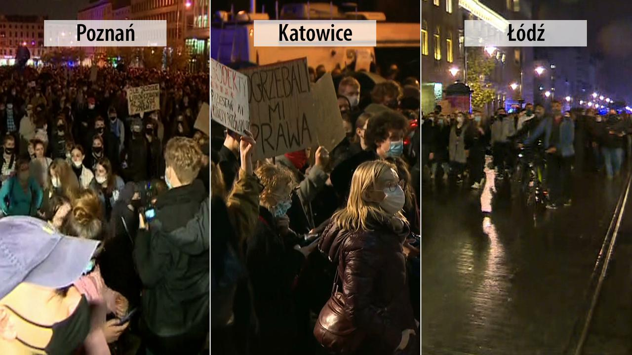 Trybunał Konstytucyjny o aborcji. Protesty w Polsce - TVN24