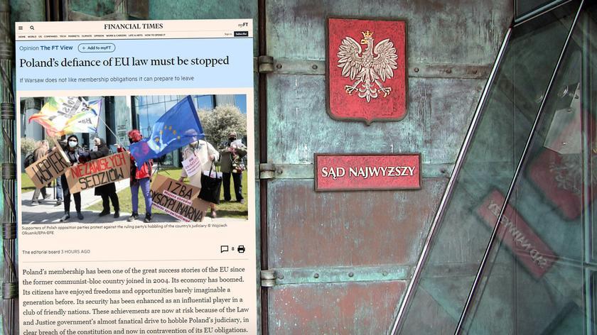 Cimoszewicz: polskie władze mówią, że nie wykonają wyroku TSUE, czyli nie wykonają postanowień traktatów