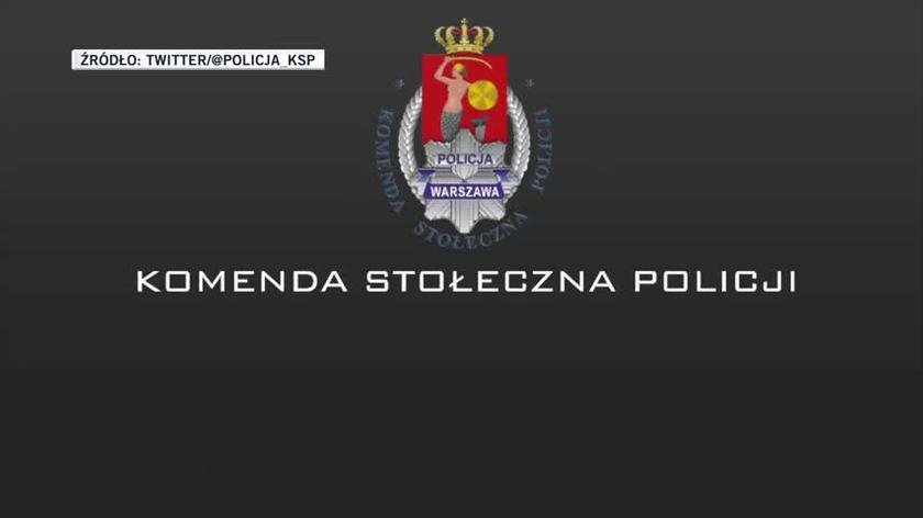 Nagranie zamieszczone przez policję na Twitterze