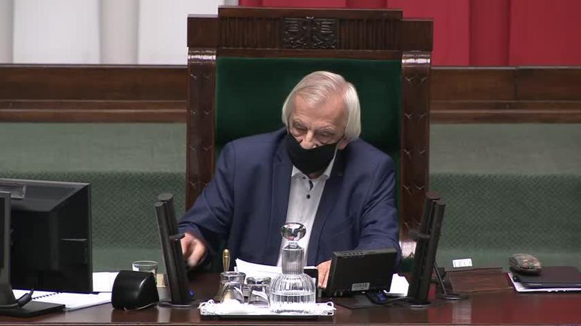 Sławomir Nitras wystąpił z wnioskiem formalnym w sprawie Ziobry. Terlecki: siadaj, pajacu