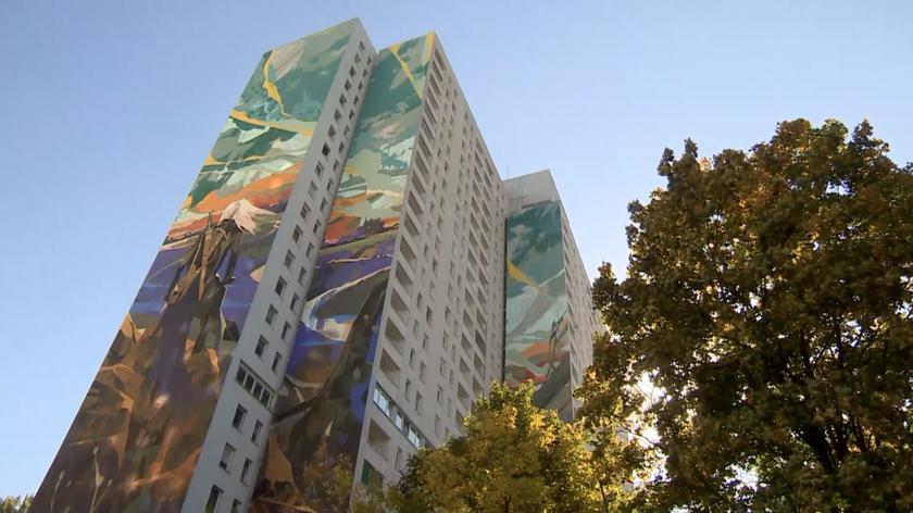 Mural powstał w centrum miasta