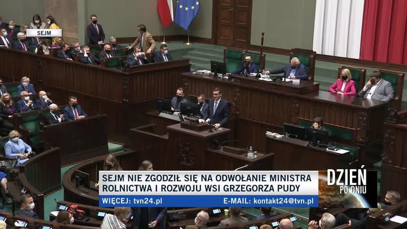 Morawiecki: polska wieś, polskie rolnictwo to największy wyrzut sumienia partii, które odpowiadają za III RP