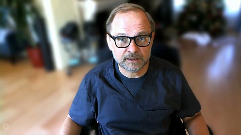 Mariusz Wirga, polski lekarz pracujący w USA już się zaszczepił na koronawirusa