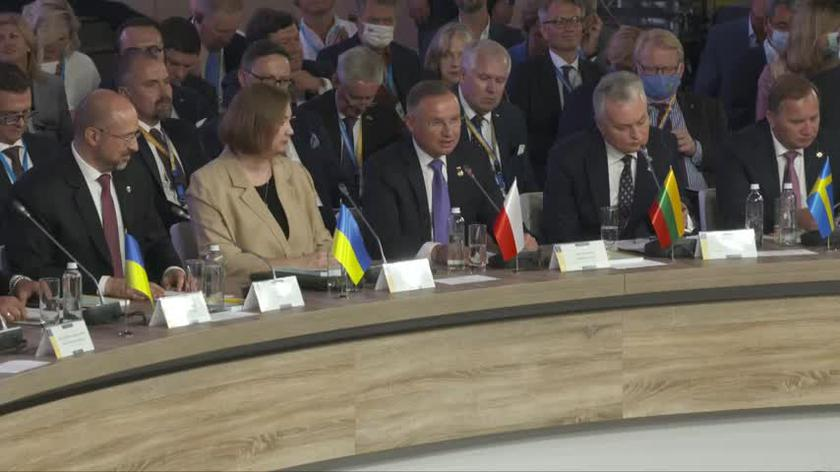 Przemówienie Dudy na szczycie Platformy Krymskiej