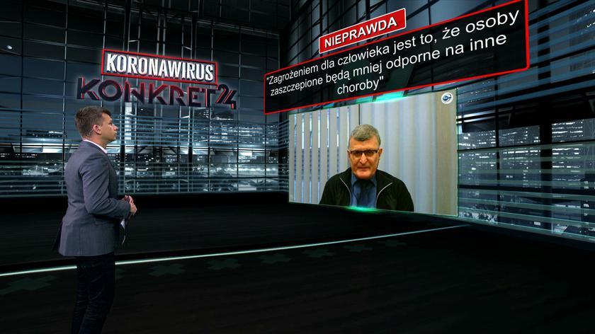 Grzesiowski: nie jest możliwe, żeby zespół pocovidowy powstał po szczepionce