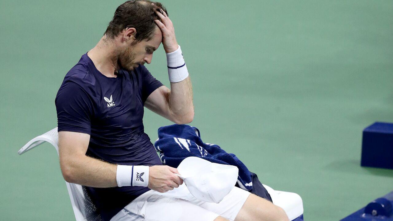 Murray już za burtą US Open