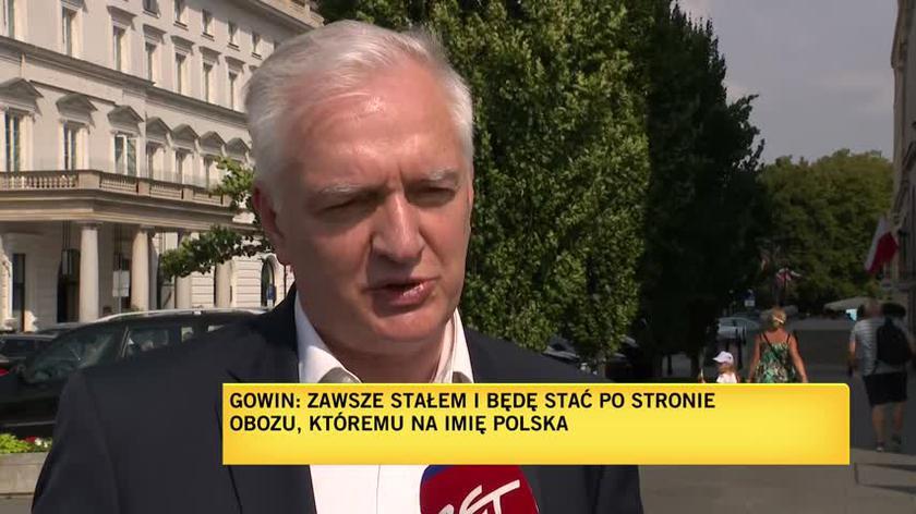 Gowin: zawsze stałem i będę stać po stronie Polski