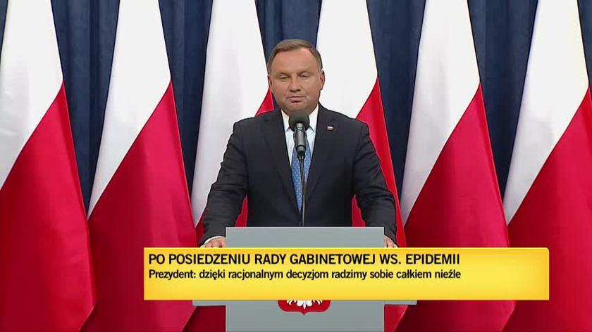 Prezydent Duda: 99 procent szkół w Polsce funkcjonuje