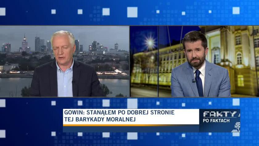 Gowin: Polska ma w tej chwili błędną politykę zagraniczną