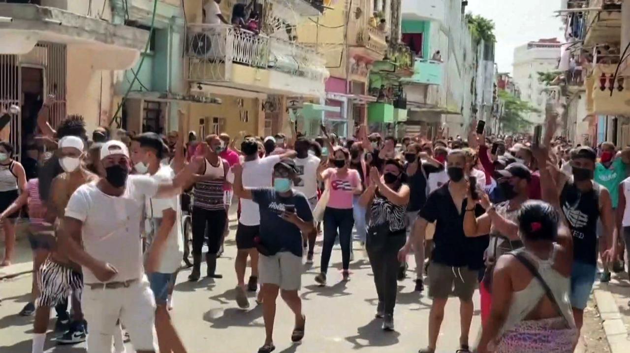 Niemal 600 manifestacji w ciągu miesiąca. Fala protestów przetacza się przez Kubę