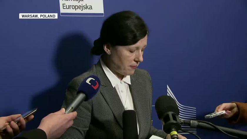 "Vera Jourova says EU executive wants to open ""new chapter"" with Poland"