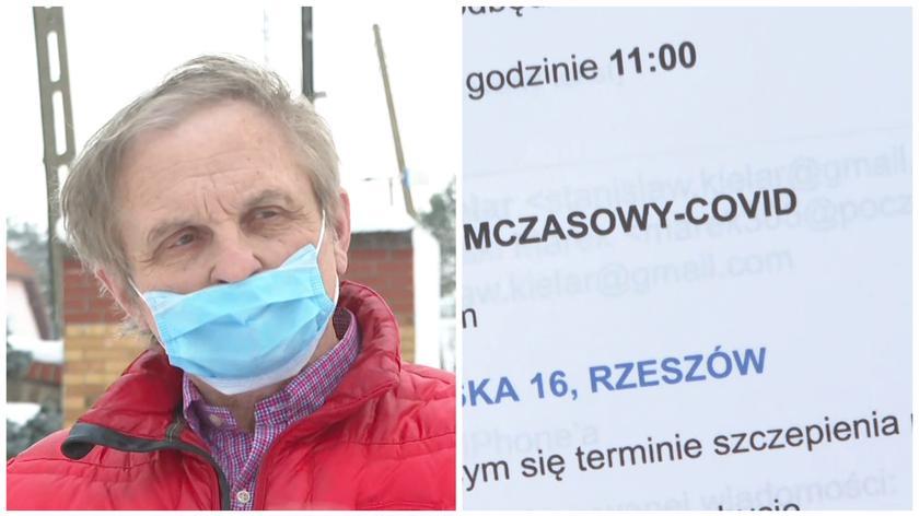 Pan Stanisław zaszczepi się 6 kilometrów od domu
