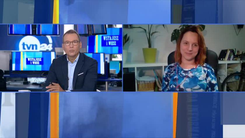 Inauguracja roku szkolnego. Dziennikarka tvn24.pl Justyna Suchecka o nauce w trybie stacjonarnym