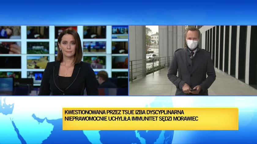 Beata Morawiec z uchylonym immunitetem