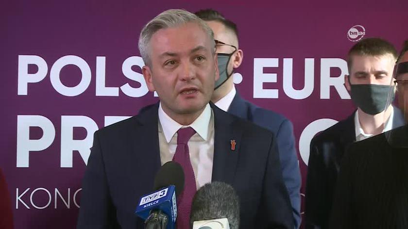 Robert Biedroń o sytuacji w Kielcach, które trafiły do żółtej strefy