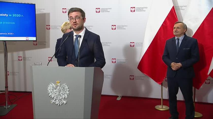 Marcin Smolik o egzaminie ósmoklasisty