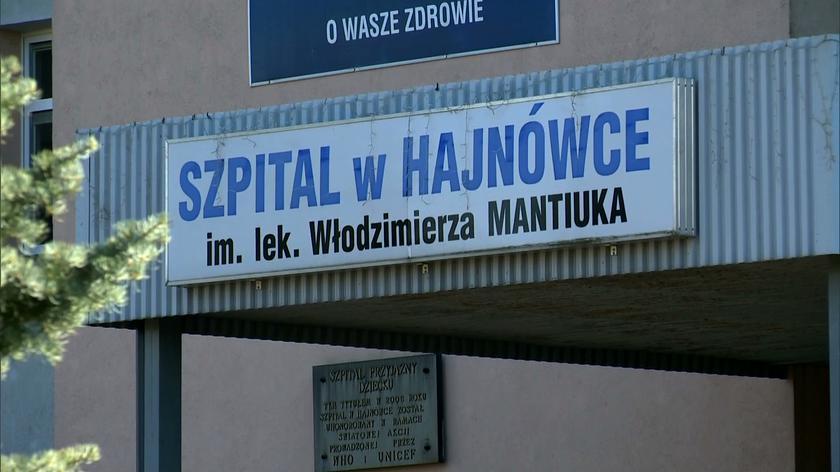 Trzy osoby, w tym dwuletnie dziecko, trafiły do szpitala w Hajnówce