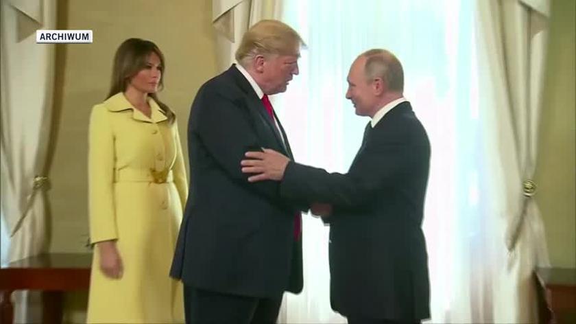 Spotkanie Donalda Trumpa i Władimira Putina [materiał archiwalny]
