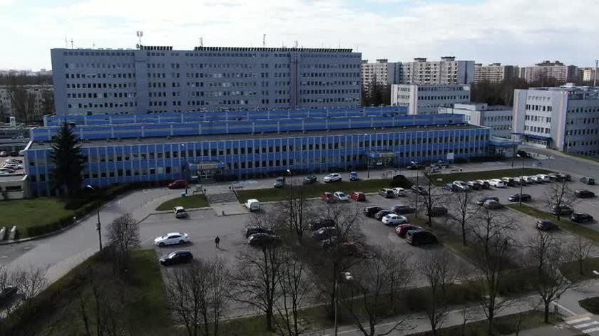 Dziesiątki zakażonych w Szpitalu Bródnowskim