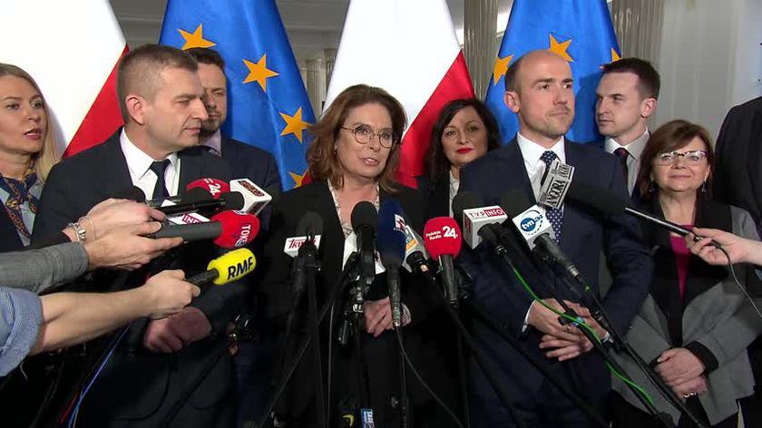 Małgorzata Kidawa-Błońska zaprezentowała swój sztab wyborczy