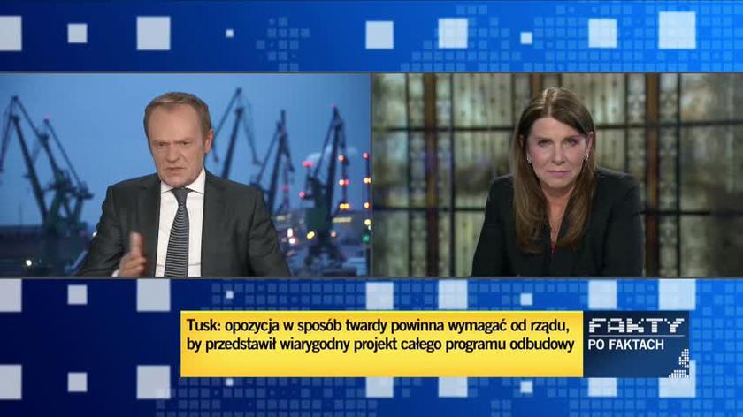 Donald Tusk o sprawie Sławomira Nowaka