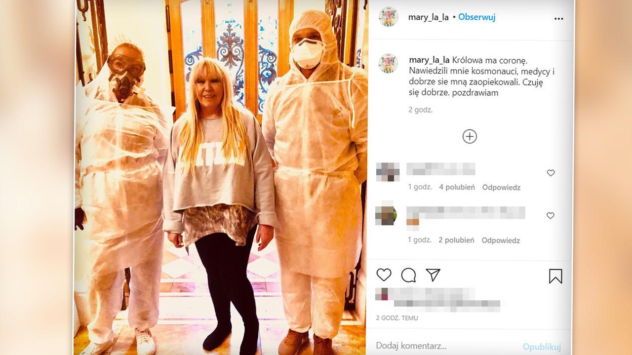 Maryla Rodowicz zakażona koronawirusem. Piosenkarka opowiedziała o swoim stanie zdrowia - TVN24