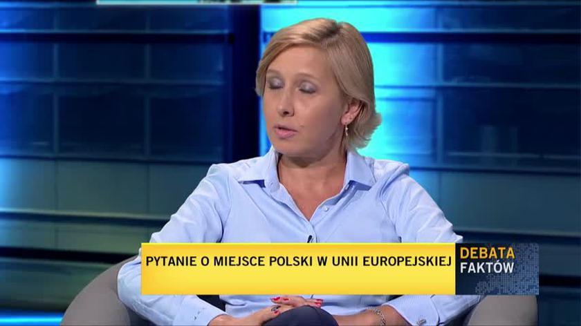 Materska-Sosnowska: niepokojące jest granie wyjętymi z kontekstu faktami