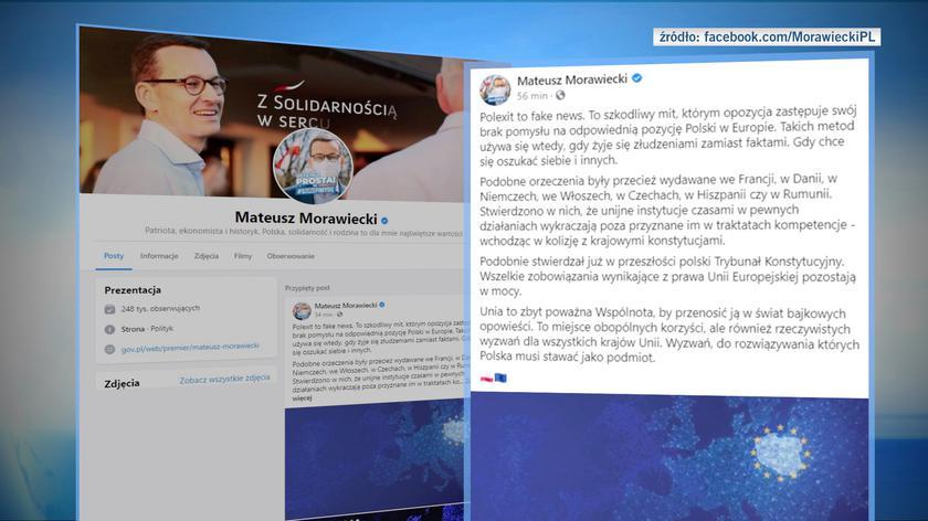 Morawiecki: polexit to fake news