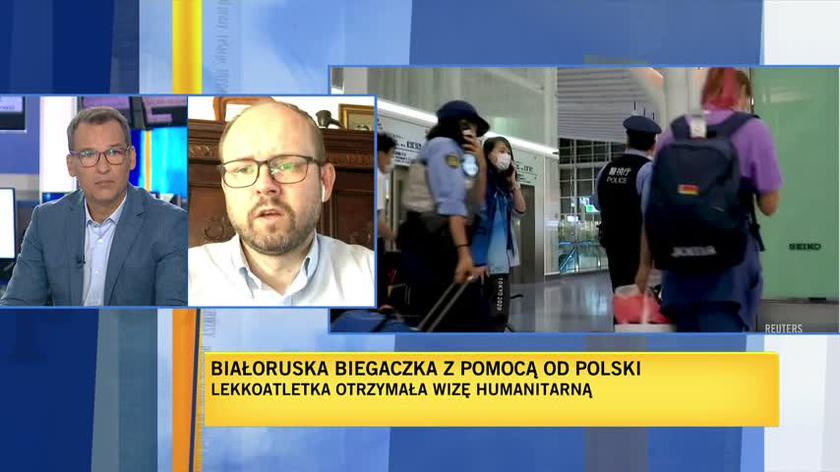 Przydacz: dołożymy wszelkich starań, by transport Cimanouskiej do Polski odbył się jak najbezpieczniej