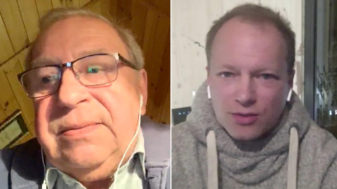 Koronawirus w Polsce. Jerzy Stuhr i Maciej Stuhr o wyborach prezydenckich i pandemii COVID-19 - TVN24