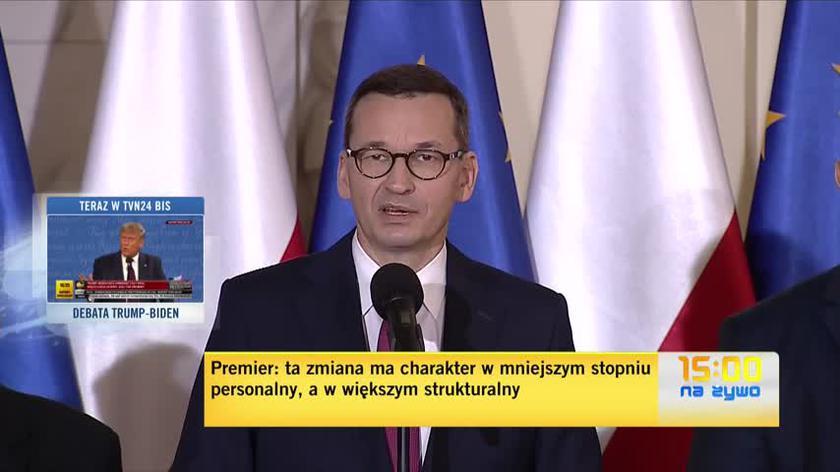Premier przedstawił nowych ministrów