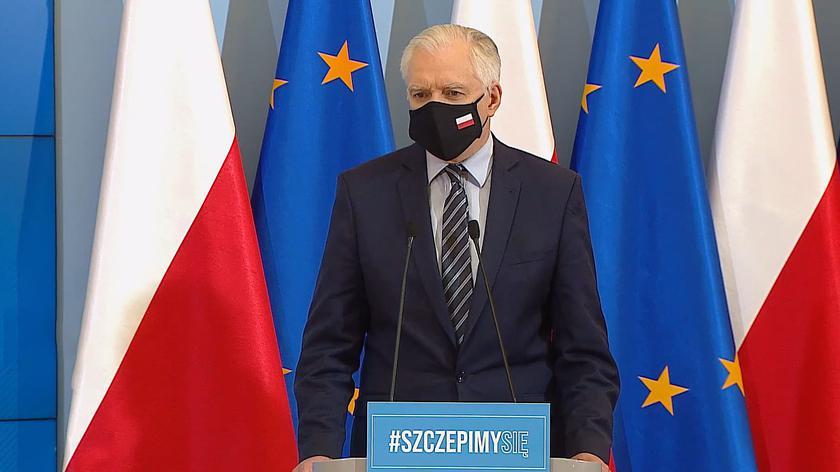Gowin: do tej pory w ramach rozmaitych tarcz skierowano do firm ponad 182 miliardy złotych