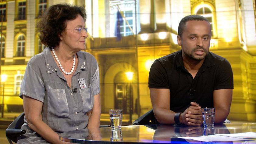 Krystian Legierski: minister Błaszczak zachęcał motorniczych, czy w ogóle społeczeństwo, żeby stawiali opór