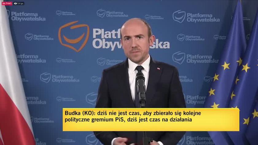 Budka: wypowiedź ze strony Antoniego Macierewicza potwierdza tylko, jak wielkie walki wewnątrz PiS-u w tej chwili się toczą