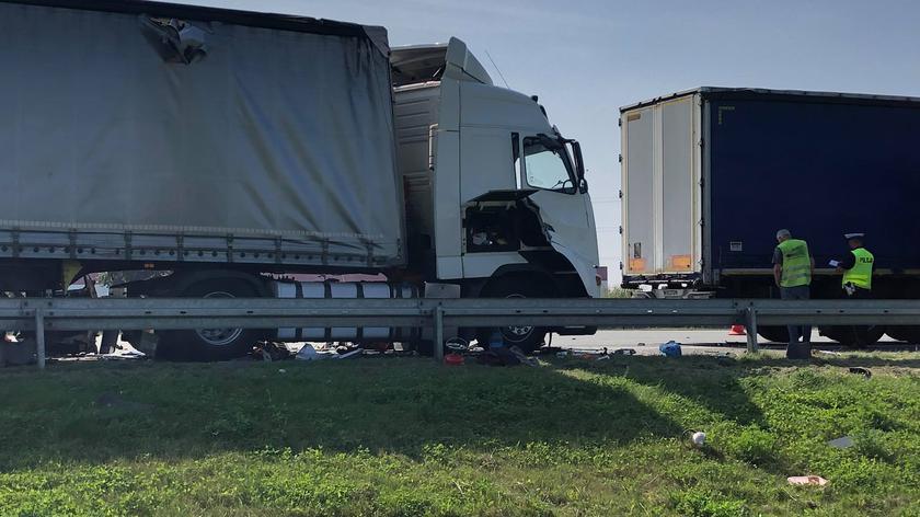 Poznań: Śmiertelny wypadek na autostradzie A2