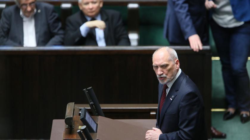 Szef MON: stopień zagrożenia ze strony Rosji jest wysoki