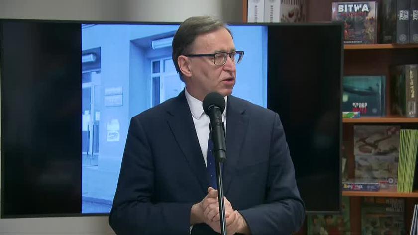 Prezes IPN o Tomaszu Greniuchu: powiedział, że ten gest był błędem, przeprosił