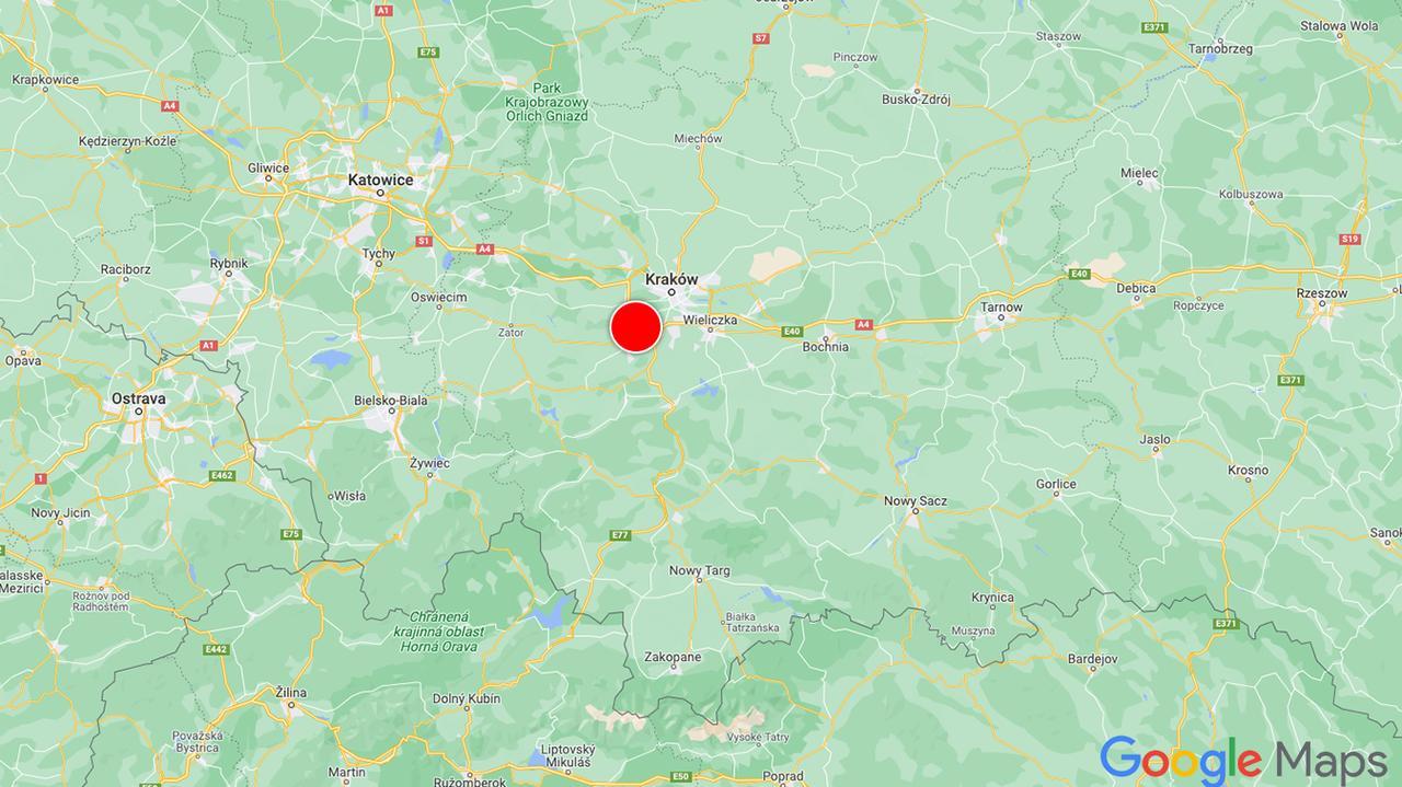 Korki na obwodnicy Krakowa. Efekt kolizji i robót drogowych