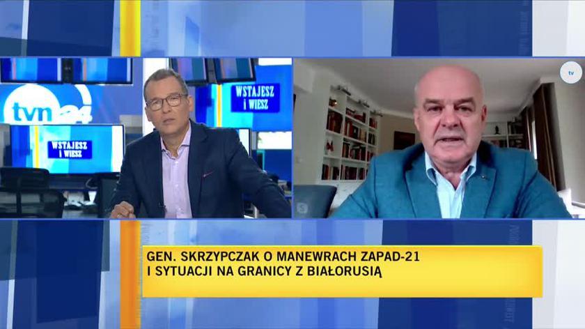 Generał Waldemar Skrzypczak o stanie wyjątkowym na granicy z Białorusią
