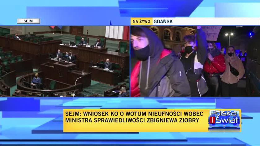 Poseł Lewicy Krzysztof Śmiszek podczas debaty nad wotum nieufności wobec Ziobry