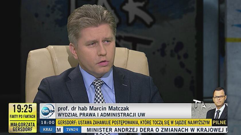 """""""Minister Ziobro wejdzie do Sądu Najwyższego i każe wszystkim sędziom go opuścić"""""""