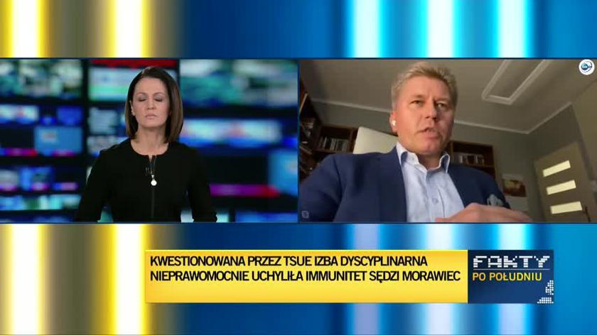 Matczak: określanie pana Tomczyńskiego sędzią jest nadużyciem
