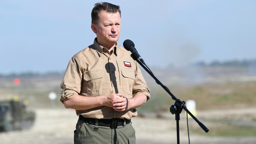 Błaszczak: wzmacnianie polskiego wojska jest najlepszym rozwiązaniem wobec agresji zza Wschodu