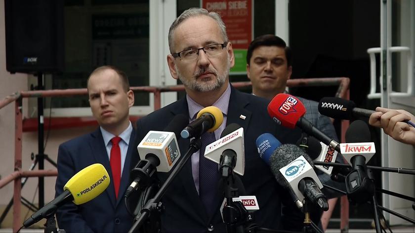 Minister zdrowia: tereny, gdzie jest niski poziom zaszczepienia, będą w pierwszej kolejności podlegały wprowadzaniu obostrzeń