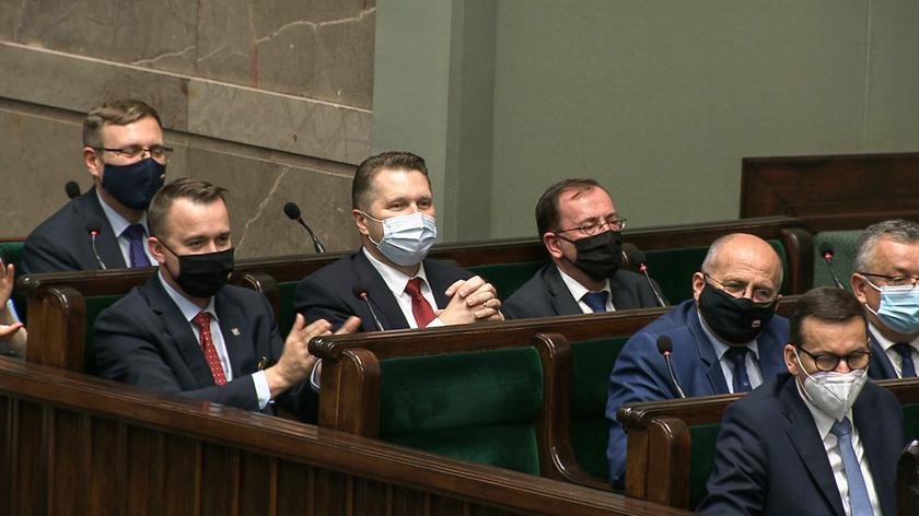Posłanka Lewicy do ministra Czarnka: jedyny język, jaki pan zna, to język nienawiści