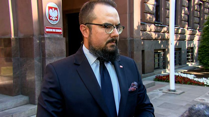 Jabłoński o rozmowie z charge d'affaires Białorusi: tłumaczenia nie były w żaden sposób konkretne