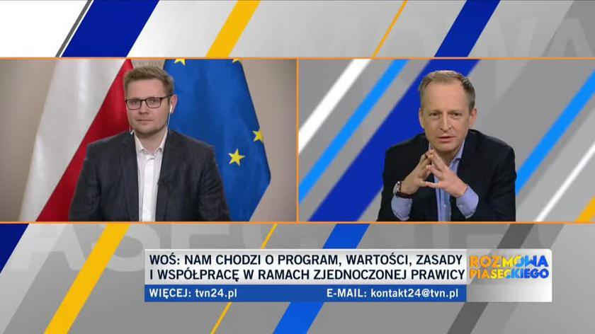Michał Woś o decyzjach premiera Mateusza Morawieckiego w sprawie Funduszu Odbudowy